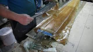 3 .Изготовление стеклопластиковой лопасти ветрогенератора ( часть 3 )