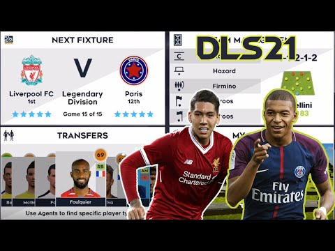 Liverpool Vs PSG | Legendary Division Final | Dream League Soccer 2021 ⚽Android Gameplay