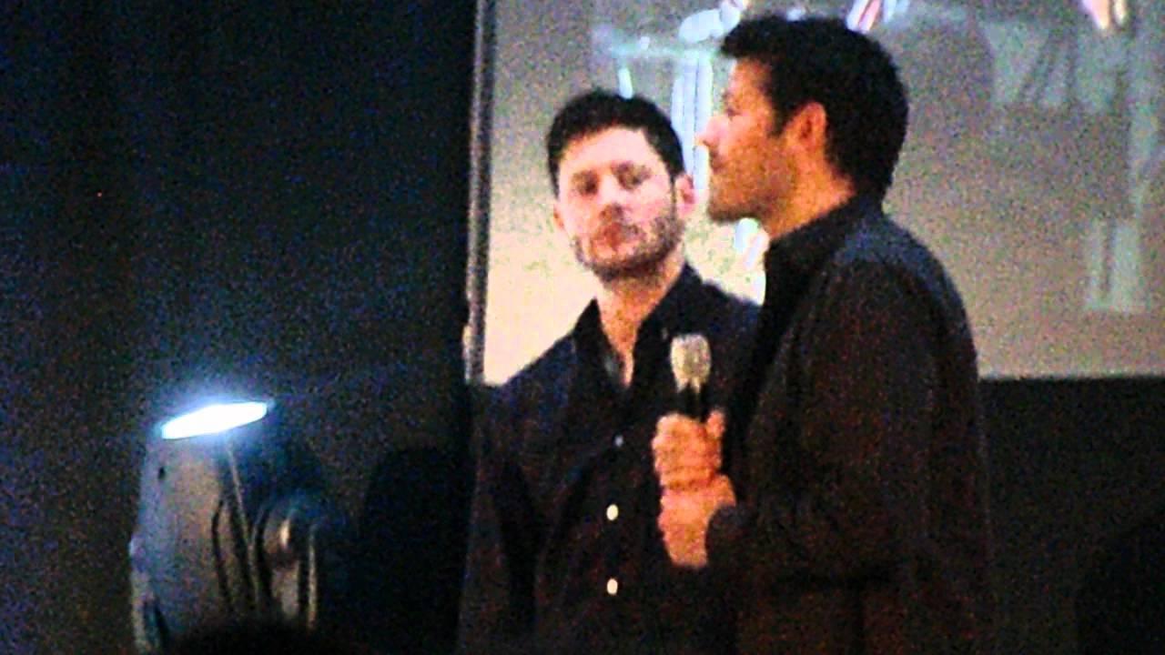 JIB3   45   Misha Abt Recasting Him Deanu0027s Role U0026 What Jensen Thinks Abt It    YouTube