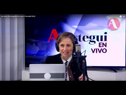 Así inició #AristeguiEnVivo este 12 de abril 2018