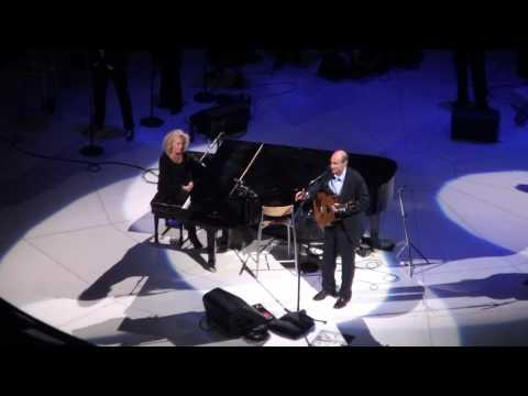 James Taylor With Carole King (HD) - Machine Gun Kelly - Boston Garden - 6/19/10