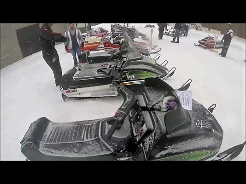 Snowmobile Antiques and Riding the Trails