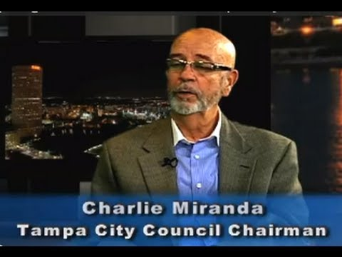 Spotlight on Government:  Tampa City Council Charlie Miranda