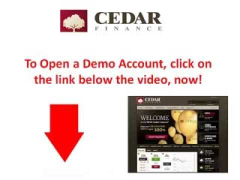 Cedar Finance Review - Is It a Scam Or Is Cedar Finance a Reliable Binary Options Broker?