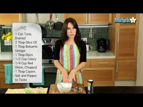 How to Make No-Mayo Tuna Salad