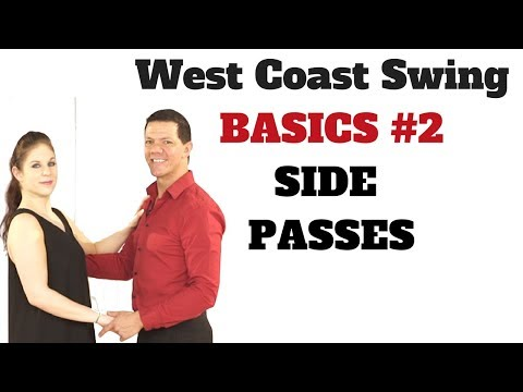 West Coast Swing Basic Right Side Pass