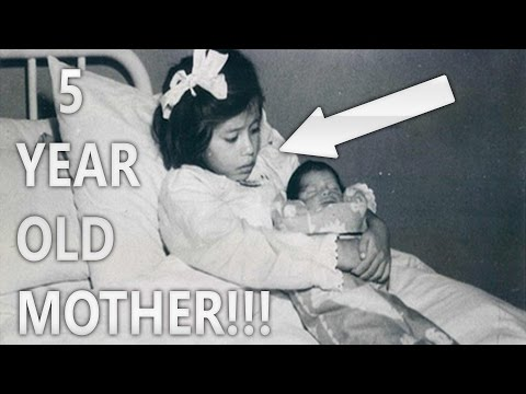 5 YOUNGEST MOTHERS You Won't Believe Actually Existed