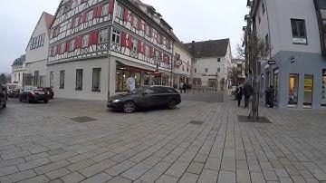 STREET VIEW: Sigmaringen an der Donau in GERMANY