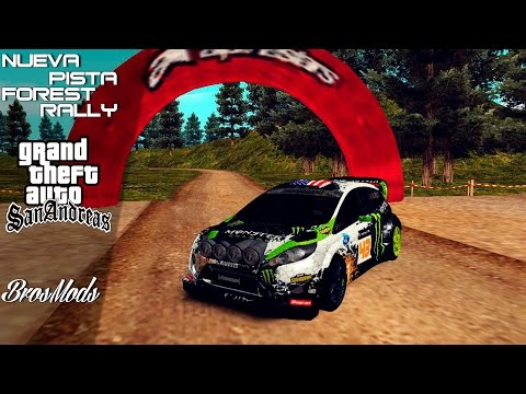 ★GTA SA: Forest Rally Maps | BrosMods 2014