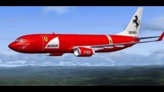 Microsoft Flight Simulator X + Acceleration + Fspassenger, P. de Mallorca-Ibiza {Ferrari} 2 de 2