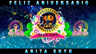 19° ANIVERSARIO DE ANITA SUYO, 27 DE NOVIEMBRE NO FALTES!!!!!