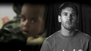UNICEF Goodwill Ambassador Leo Messi - help end child deaths