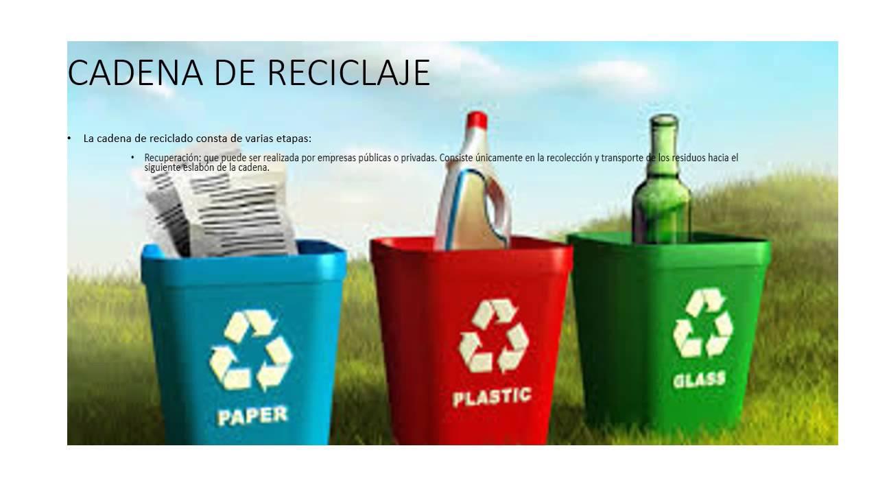 Presentacion de reciclaje youtube - Colores para reciclar ...