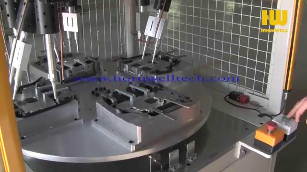 Rotary Table Ultrasonic Machine Youtube