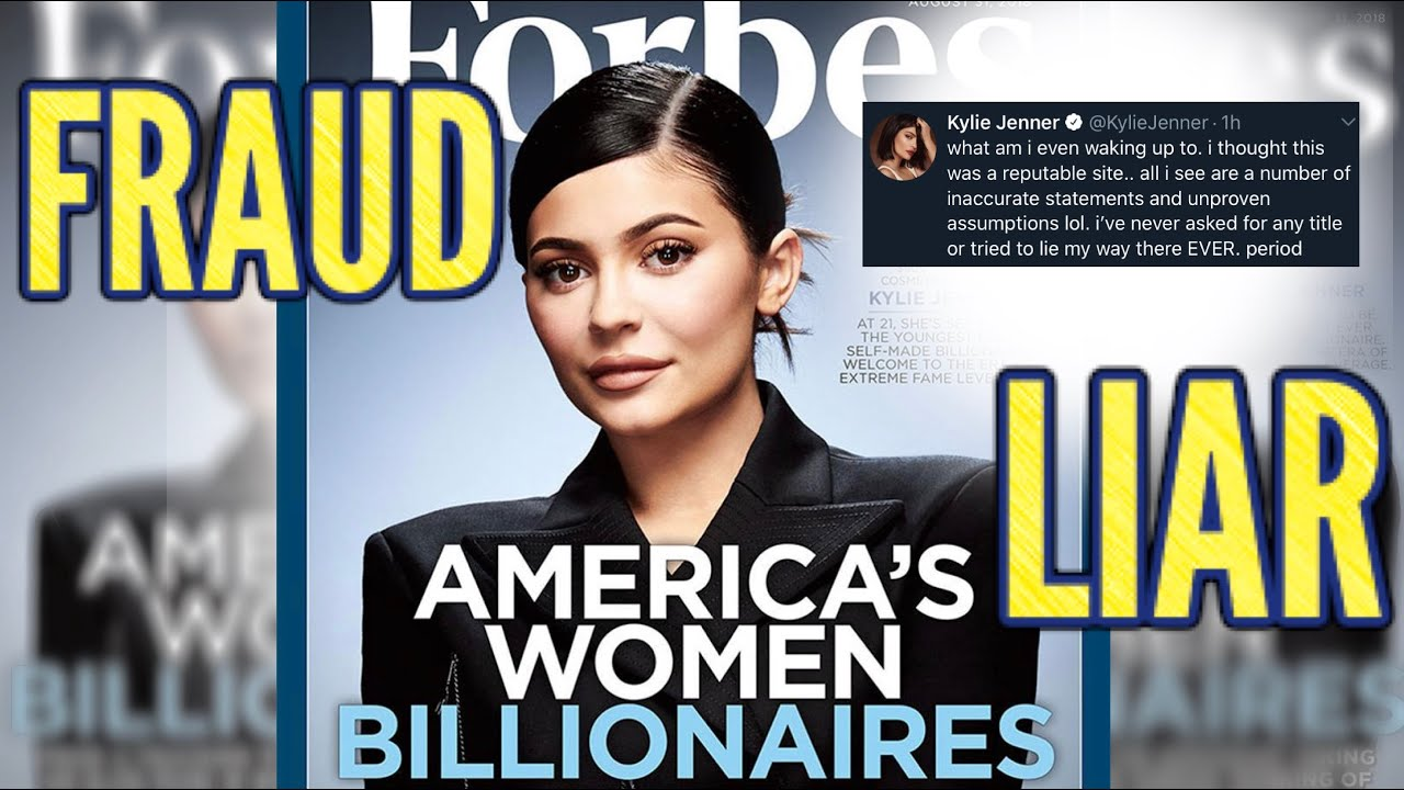 Kylie Jenner hits back at Forbes on Twitter