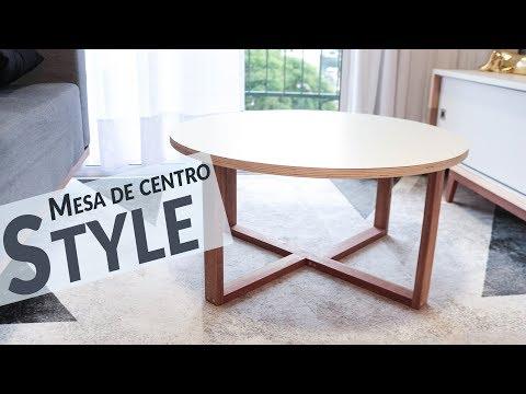 DIY - MESA DE CENTRO STYLE - BARATA E LINDA!