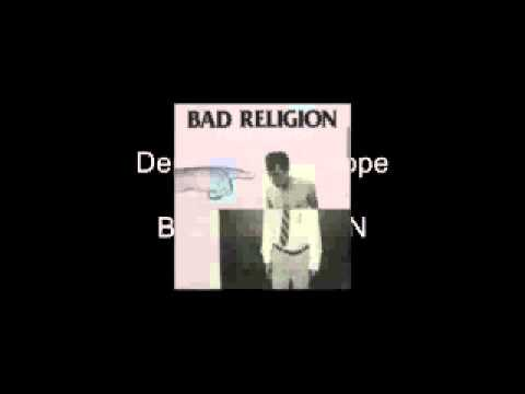 Bad Religion - Dept of false Hope - legendado Pt