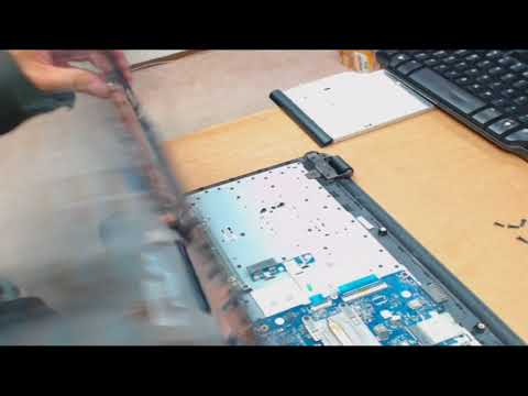 Hewlett Packard Laptops - 15AC121DX Hard Drive Removal