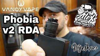 Vandy Vape Phobia v2 RDA By Alex VapersMD - Coil Placement tutorial - Mike Vapes