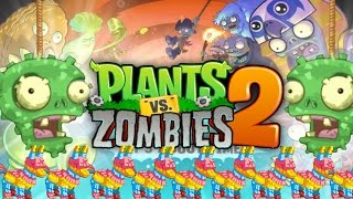 Limited Time Event!! PINATA PARTY!!! | Hard Zomboss Battle! | Plants Vs Zombie 2 (Pvz 2 IOS)