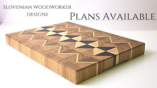 Making  Awesome  Endgrain Cutting Boards // 3 Endgrain Cutting Boards