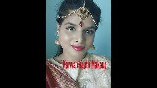 Karwa chauth Makeup 2018| करवा चौथ मेकअप 2018|Beauty withrovina