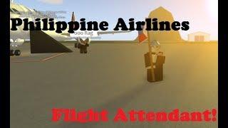 ROBLOX - France Travailler en tant qu'agent de bord sur Philippine Airlines!