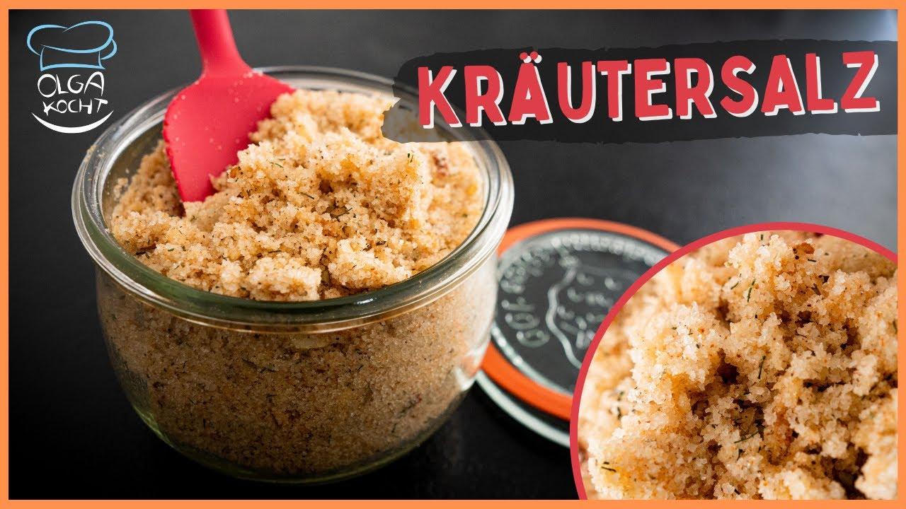 Kräutersalz selber machen aus wenigen Zutaten 🧂🌿 Mein Universal Gewürz in 5 Minuten