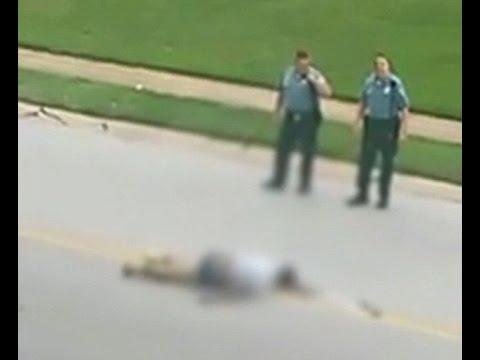 NEW Video Shows Officer Darren Wilson STANDING Over ...