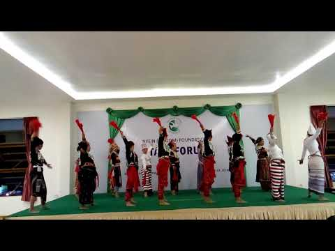 Nyein 2018 Staff forum (kachin dance)