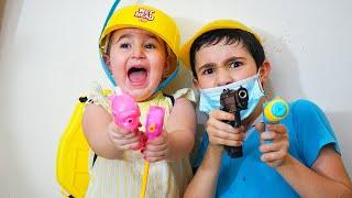 Celina and Hasoua VS germs - سيلينا وحسونة ضد الجراثيم