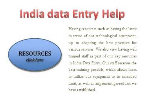 Offshore Data Entry Services for your Business
