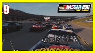 (Talladega And They Actually Try!) NASCAR 2011 The Game Career Mode Part #9