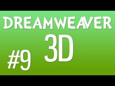 DREAMWEAVER 3D #9: Create Menu CSS Sprites In Photoshop