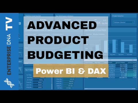 Advanced Product Budgeting Analysis - Power BI & DAX Techniques