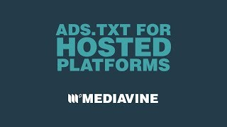 Ads.txt for Hosted Platforms | Go For Teal Mp3