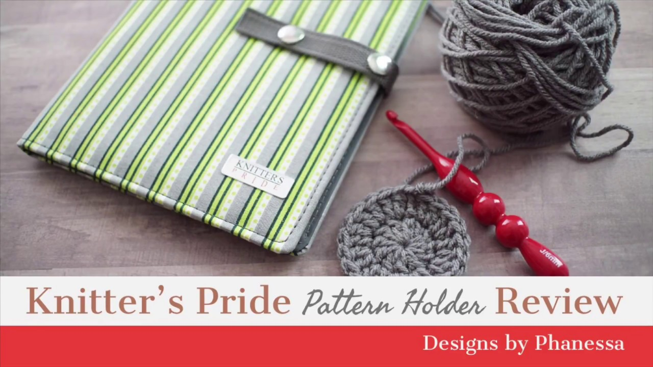 Knitters Pride Pattern Holder Review Youtube
