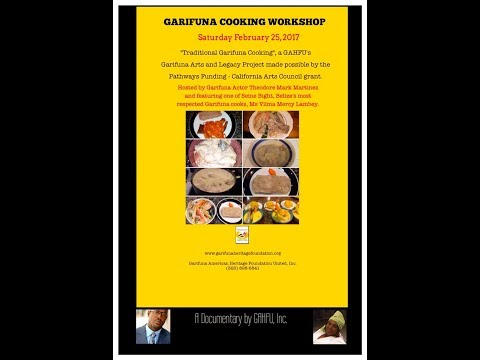 Traditional Garifuna Cooking Workshop