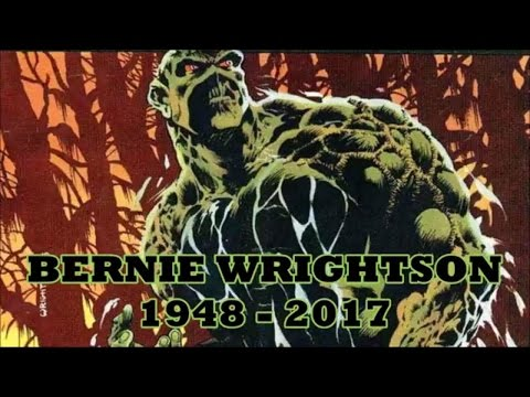 IN MEMORY OF BERNIE WRIGHTSON  A COMPLETE COMIC BOOK COVERS COLLECTION