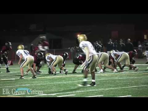 Elk Grove High School vs Laguna Creek High School football Oct. 23, 2009