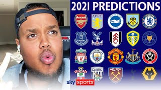 Predicting EVERY <b>Premier League</b> club's fortunes in 2021