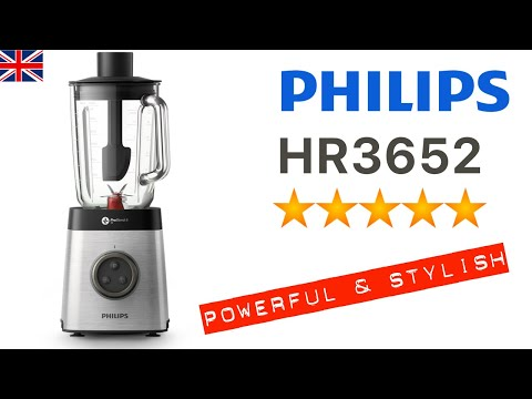 🇬🇧 Philips HR3652 Blender  — a very thorough look 👀 at everything in the box