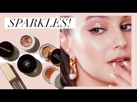 Sparkly Topcoats ⭐️ Glossy Eye Vibes 💅🏻 Karima McKimmie