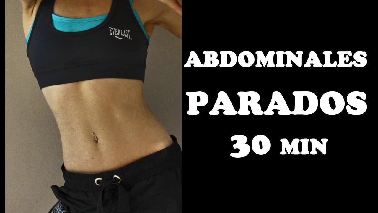 Abdominales parados CARDIO de 30 min | Día 2 #abs21 - YouTube