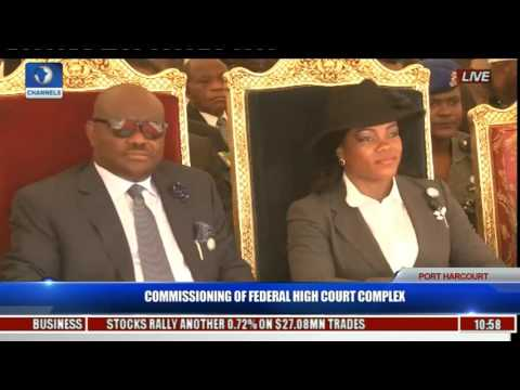 Commissioning Of Federal High Court Complex Pt. 1