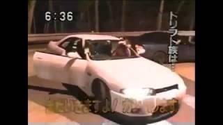 Japan illegal drift - DORIFTU -  いろは坂のR32乗りの女子高生ドリフト族!!?【峠・ドリフト・走り屋】