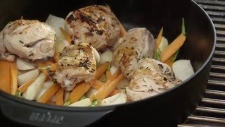 Weber GBS Dutch Oven - Lemon Chicken Ragout