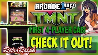Arcade1up TMNT Cab Review and possible MODs!