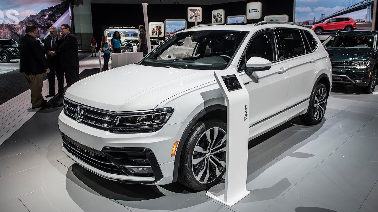 all new 2018 volkswagen tiguan r line la auto show 2017 youtube. Black Bedroom Furniture Sets. Home Design Ideas