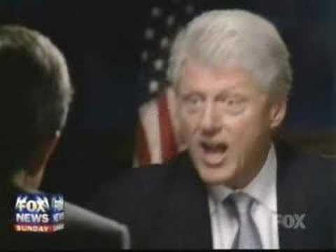 Clinton Kicks the Crap out of Fox News Part 2